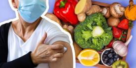 ¿Qué puedes comer después de la vacuna contra el covid-19?