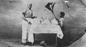 El cocinero más famoso de la independencia