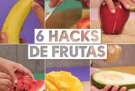 Trucos para cortar frutas