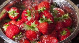 ¿Cómo lavar y conservar las fresas?.