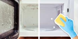¿Por qué debes limpiar el microondas por dentro y cómo hacerlo?