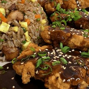 Pollo chijaukay con arroz chaufa [VIDEO]