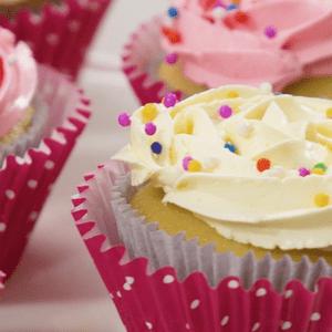 Cupcakes de vainilla (VIDEO)