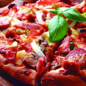 La verdadera pizza carnívora