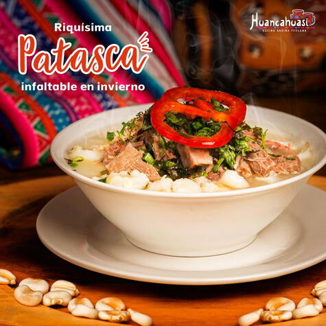 Una sopa clásica en el recetario del valle del Mantaro, la mejor cura contra todo mal.