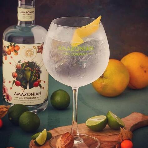 Amazonian Gin Company está hecho con botánicos y frutos amazónicos.