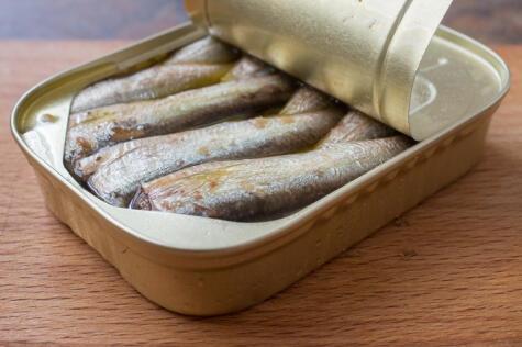 Las sardinas y anchovetas son ricas en grasas saludables; consúmelos más.