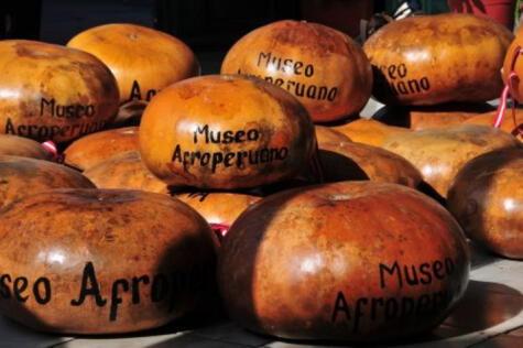 Checo, instrumento musical de Zaña, reconocido como Patrimonio Cultural de la Nación. Foto: Andina (Difusión) - Museo Afroperuano
