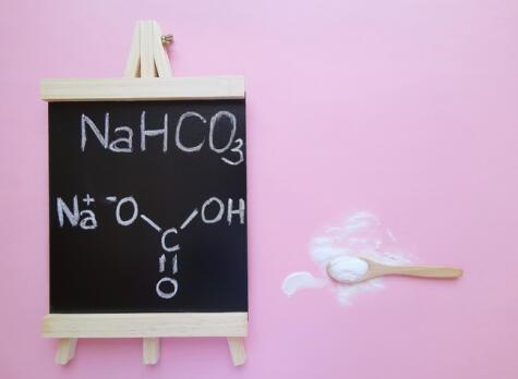La composición química del bicarbonato de sodio. Salvador universal.
