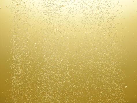Espumosos: la finura de la burbuja es un signo de calidad.