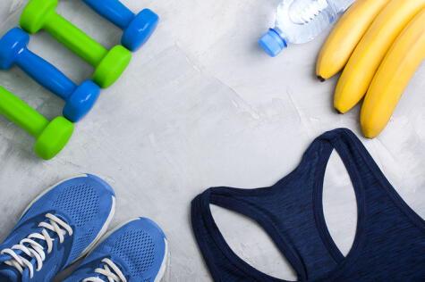 El potasio también favorece la buena hidratación y evita los calambres por agotamiento muscular.