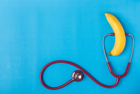 El potasio es bueno para el corazón, porque regula la presión arterial.