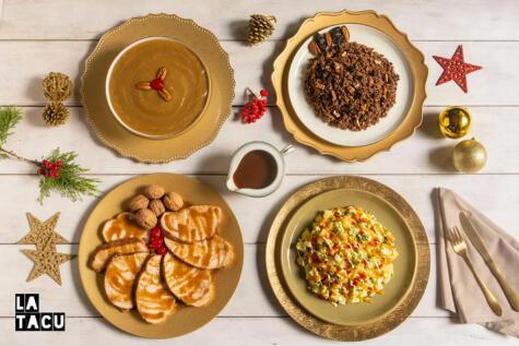 El menú navideño de La Tacu recoge todo el sabor de la tradición familiar.