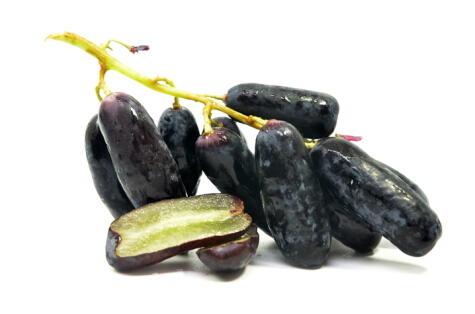 Sapphire seedless, una variedad patentada sin pepa con mucho éxito en el extranjero.