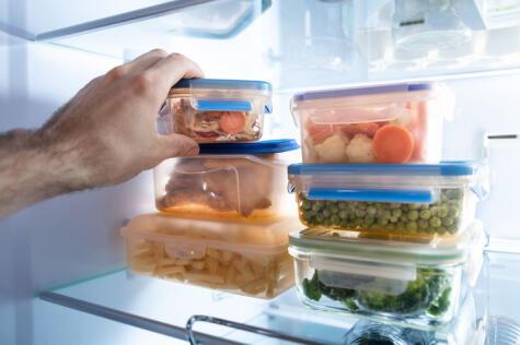Cualquier comida que guardes en el refrigerador deberás consumirla antes de los 4 días.