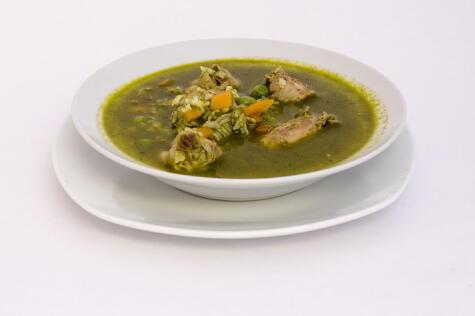 El aguadito de pavo es un clásico del reciclaje culinario.