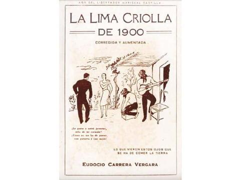 En este libro aparece la primera mención —hasta ahora— del chilcano: una jarana entre fines del siglo XIX e inicios del XX.
