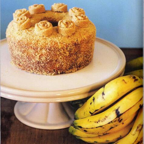 Porque un queque de plátano puede adquirir alturas insospechadas en las manos correctas. Foto: <strong>Julia Bochanneck.</strong>