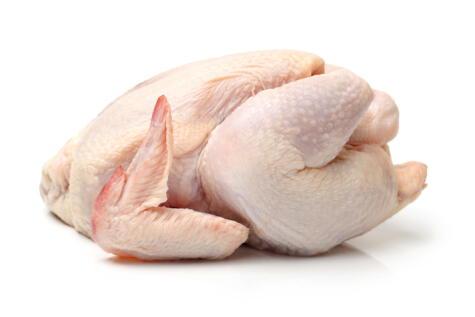 El pollo debe verse y oler sano. Si está muy baboso, o con un color verdoso, ya no está bueno.