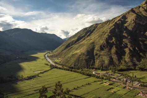 El 90% del área cultivable del Valle Sagrado está destinado al maíz blanco gigante del cusco.
