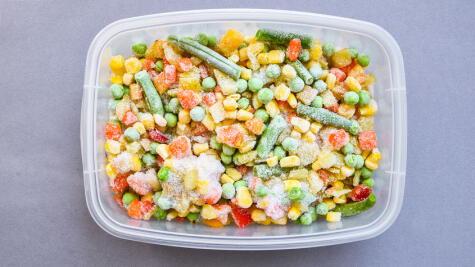 No todas las verduras cocidas se pueden congelar.