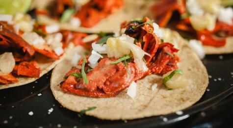 Tacos al pastor, uno de los preferidos entre los mexicanos.