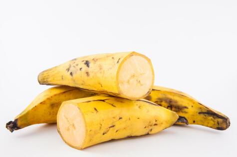 El plátano es un ingrediente clave en la preparación.