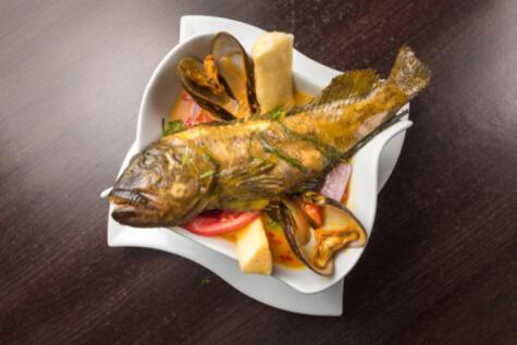 El tramboyo es un pescado humilde, pero que se luce en el sudado.