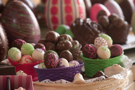 Los huevos de chocolate son un producto del siglo XX que se han hecho famosos por la publicidad.