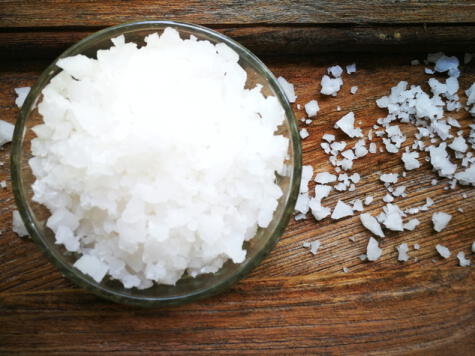 Esta sal se usa para tratar la carne según los mandatos judíos.