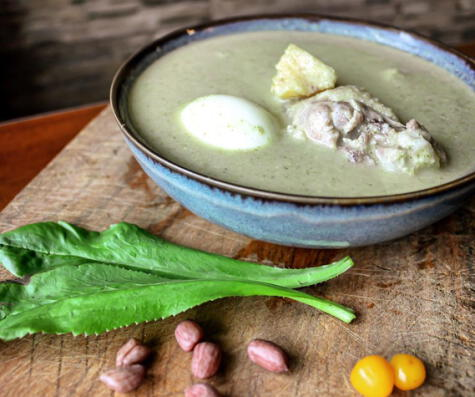 este caldo tiene todo los elementos que le dan identidad regional a la comida amazónica.
