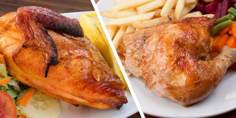 Frente a un pollo a la brasa el debate es interminable.