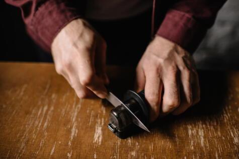 Los afiladores de manuales de cocina son prácticos y muy eficientes.