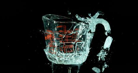 El vidrio refractario no es irrompible: tampoco hay que exponerlos a cambios bruscos de temperatura.
