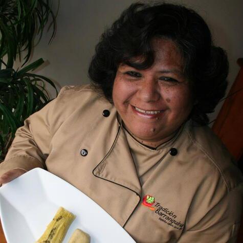 María Zúñiga: su amor por la cocina trasciende su cocina y se plasma en sus palabras. (Foto: Archivo La República)