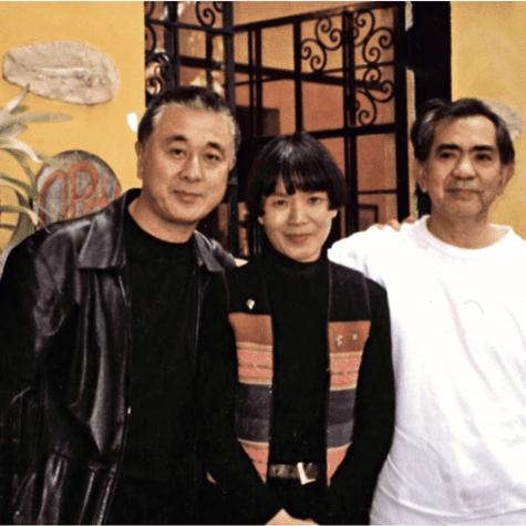 Darío Matsufuji (derecha), junto a su esposa Kiyoko Yasuda, y Nobu Matsuhisa, pioneros de la cocina nikkei. (Foto: Archivo familiar)