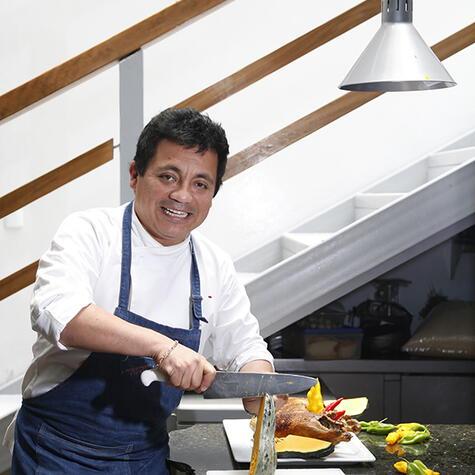 Embajador de la cocina norteña, Héctor cocina como señor moche. (Foto: Archivo La República)