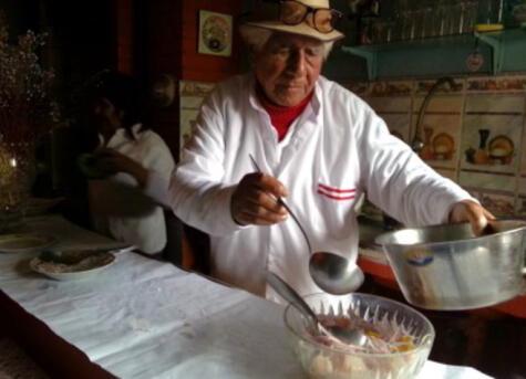 El padre del ceviche, decía que dios había inventado el ceviche. pero que él lo había perfeccionado (Foto: 7canibales)
