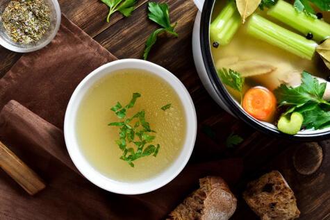 Las verduras son clave para un buen caldo: sabor y sustancia.