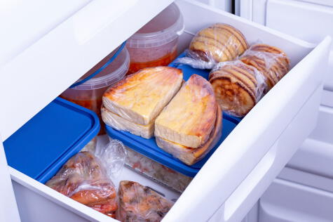 Congelar es la mejor forma de ahorrar.