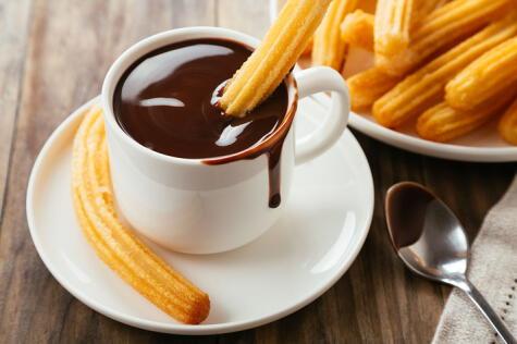 El chocolate tuvo que llegar a Europa para conquistar a los churros.