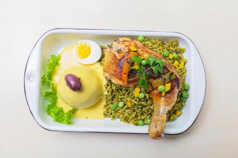 Este plato es el menú más popular de Lima.