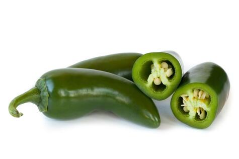 El jalapeño es el más famoso de los chiles mexicanos; la mayoría se consume en encurtidos.