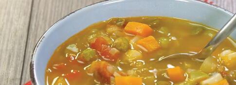 Sopa de verduras (VIDEO)